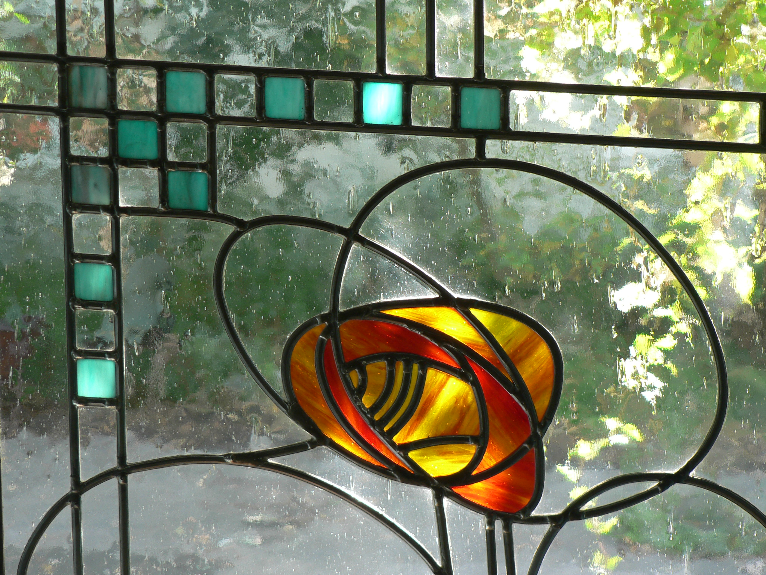 Glas in lood glas